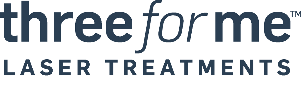 Three for Me Laser Treatment logo